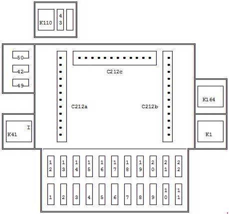 Ford Puma \u2013 fuse box diagram - CARKNOWLEDGE