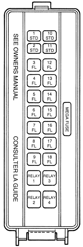 1962 Ford Fuse Box - Wiring Data Diagram