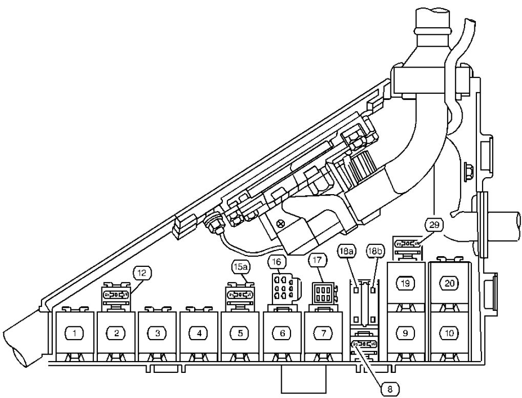 2001 cadillac catera fuse box diagram