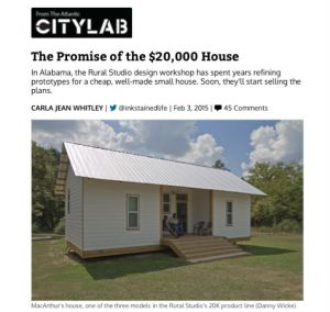 The Promise of the $20,000 House