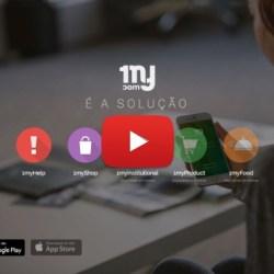 1 mycom background com botão youtube