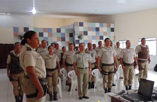 comandante 6°BPM visita norte Bahia