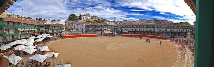 Panoramica de la Plaza Mayor