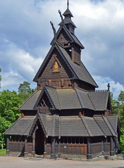 Norsk Folkemuseum - Iglesia de Gol
