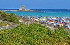 Playa y Torre de La Pelosa