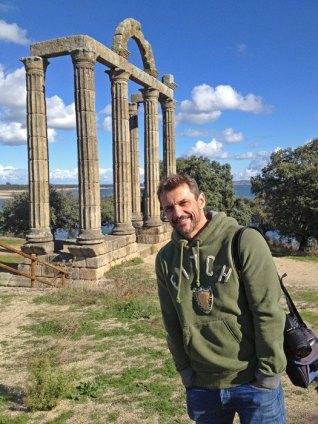 Carlos de Viaje en Augustóbriga