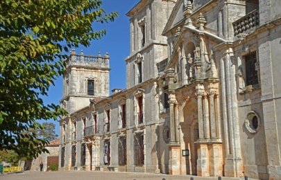 Fachada del Palacio e Iglesia