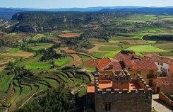 Vistas desde el Castillo de Alpuente