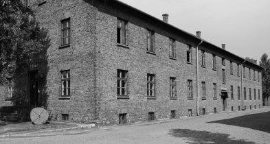Auschwitz I. Rueda y Barracón