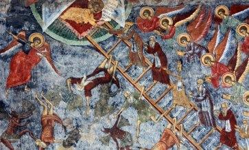 Monasterio Sucevita. Escalera de las Virtudes