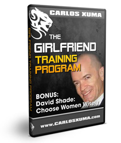 1 Bonus DavidShade1 sml - Carlos Xuma – Girlfriend Training Program : How To Keep Your Girlfriend Attracted To You And Into You