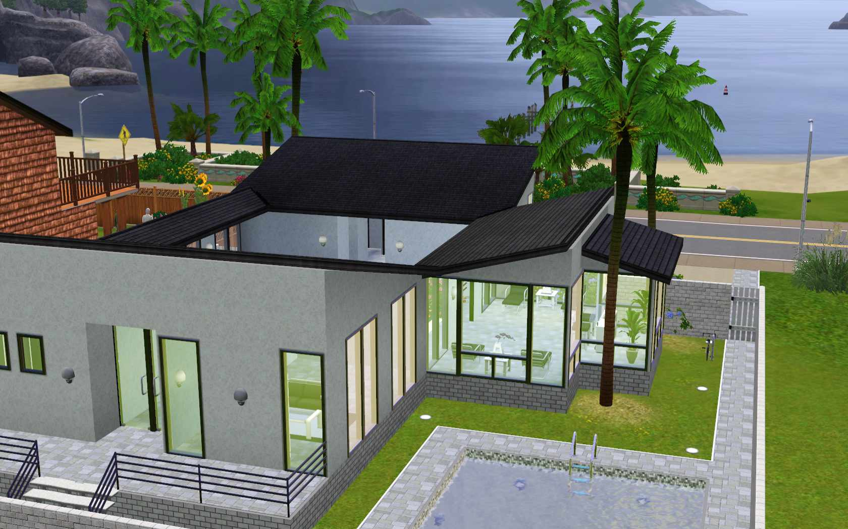 cool house designs for sims 3