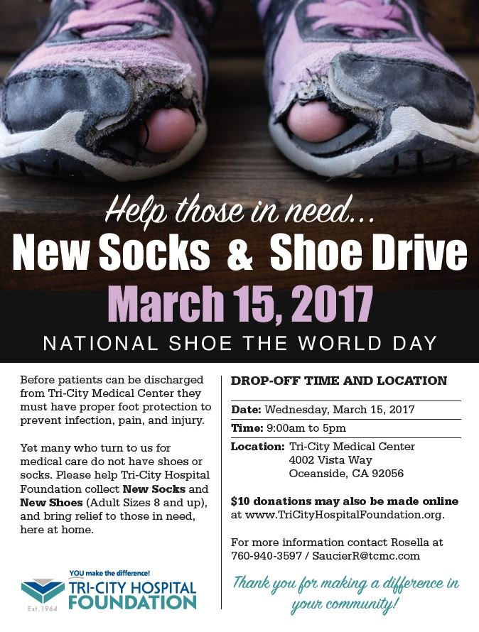 shoe and sock Carlsbad Chamber of Commerce