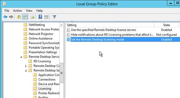 Change licensing server terminal services free download