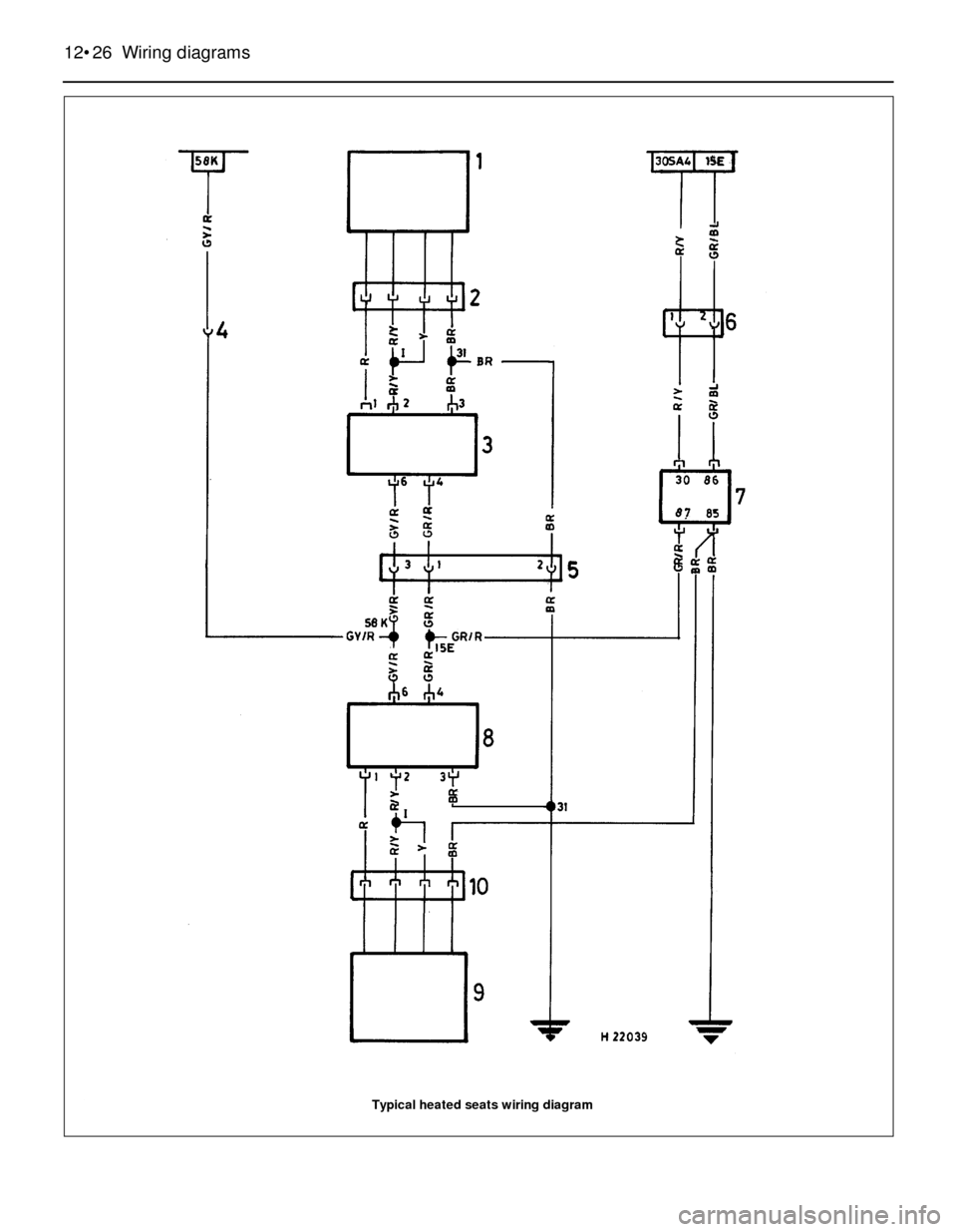 e30 wiring diagram washer