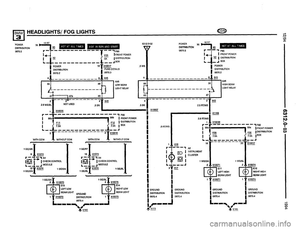 bmw 325i 1994 e36 electrical troubleshooting manual