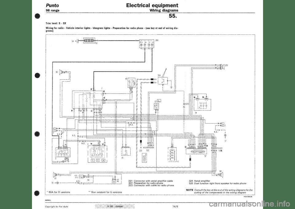fiat 500c 2013 wiring diagram auto electrical wiring diagramfiat punto 1998 176 1 g wiring diagrams workshop manual
