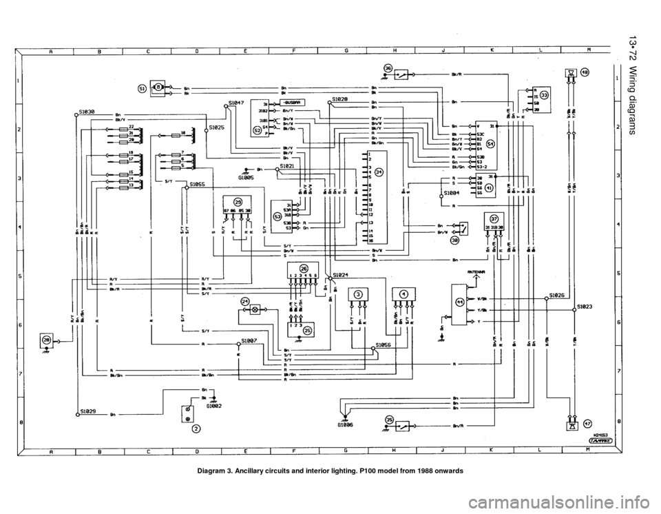 74 ford electronic wiring diagram