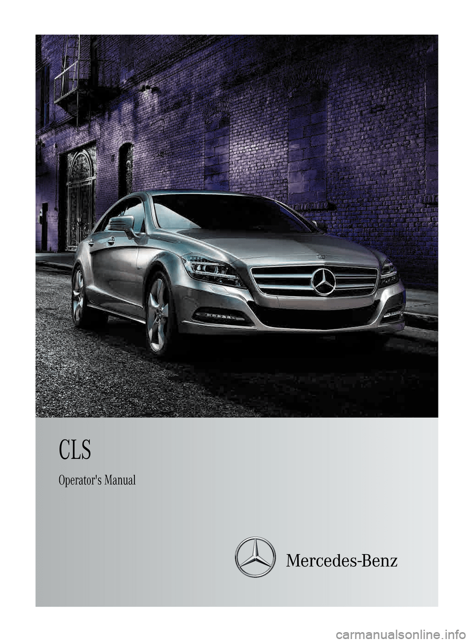 mercedes benz repair manual for cls