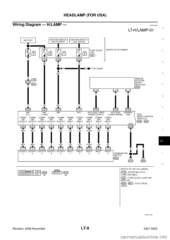 2006 nissan sentra b15 headlamp wiring diagram