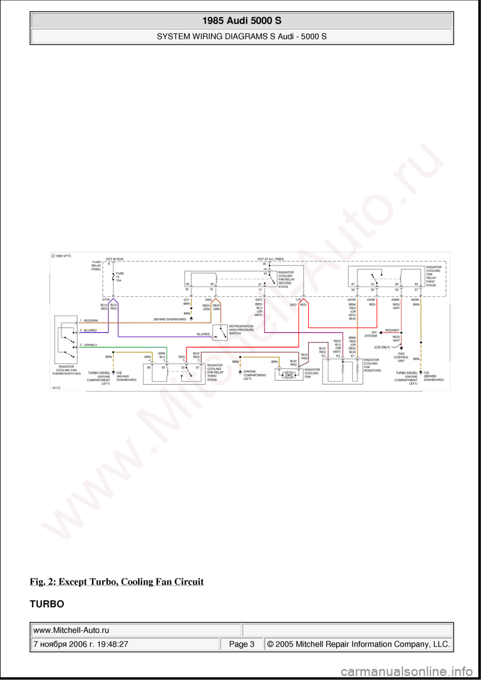 audi 5000 wiring diagram