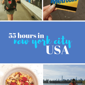 55 Hours in New York City!