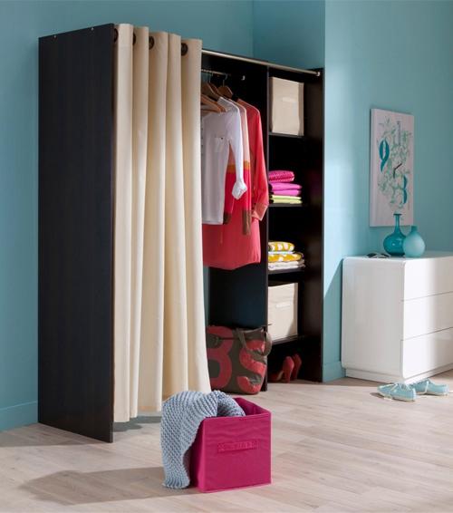 D co des id es pour emm nager un dressing dans une chambre - Comment faire un dressing dans une petite chambre ...