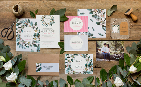 My Dear Paper - Wedding Vintage Garden 2 collection - Photo by Cyrielle Mothas