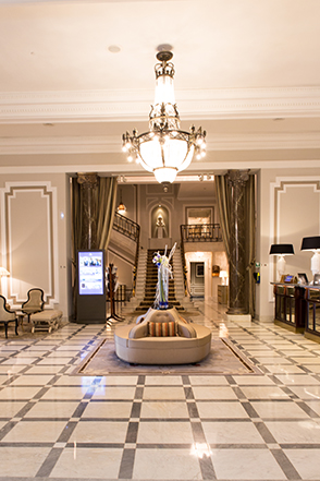 Hotel Maria Cristina in San Sebastian - Lobby