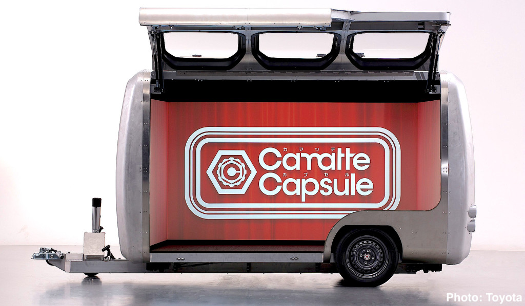 2016 Tokyo Toy Show Toyota Camatte Capsule Is A Virtual