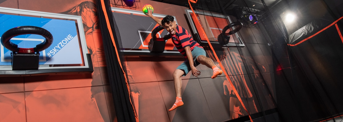 Sky Zone First-Ever Sky Zone at Sea Carnival Cruise Line