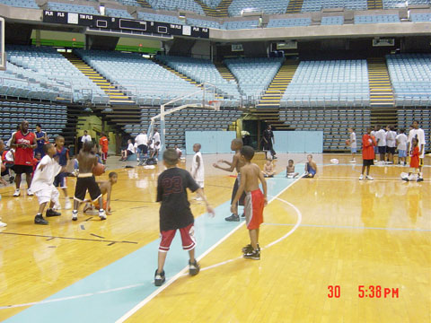 basketball camp for kids drills