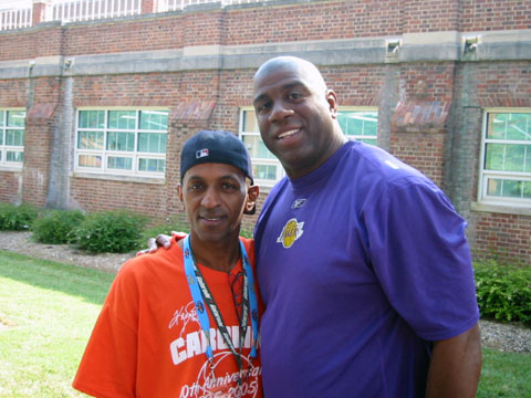 magic johnson basketball camp