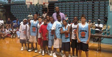 day camp at carolina basketball camp
