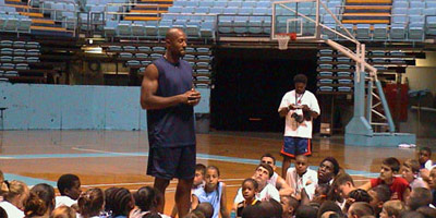 day basketball camp lectures