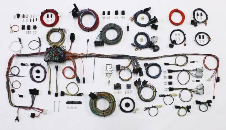 1983-1987 Chevy Truck Wiring Harness GMC Truck Wiring Kit