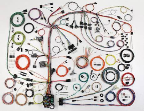 1976-86 Jeep CJ Classic Update Series Wiring Harness Kit - 510573 at
