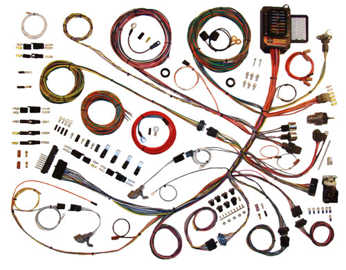1961-1966 Ford Truck Wiring Harness Kit American Autowire