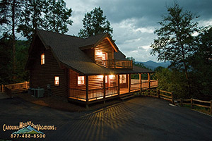 Fall Wooded Wallpaper Peaceful Paradise Smoky Mountain Log Cabin Vacation Rental
