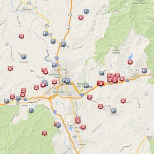 Buncombe crime map