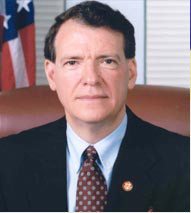 Former U.S. Rep. Charles Taylor, pictured during his time in Congress.