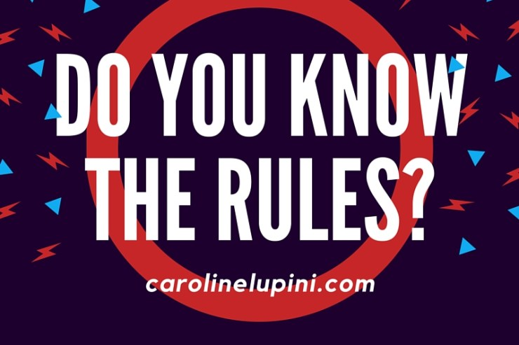 Do you know the rules-