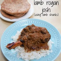 Slow cooker lamb rogan josh (using lamb shanks) #SundaySupper
