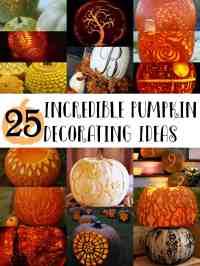 25 Incredible Pumpkin Decorating Ideas