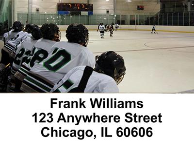 Hockey Address Labels
