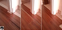 How to lay laminate in a doorway for perfect flooring ...