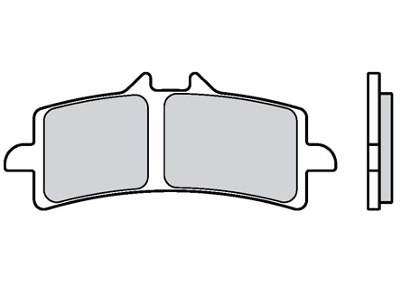 Brembo Brake Pads 07BB37LA
