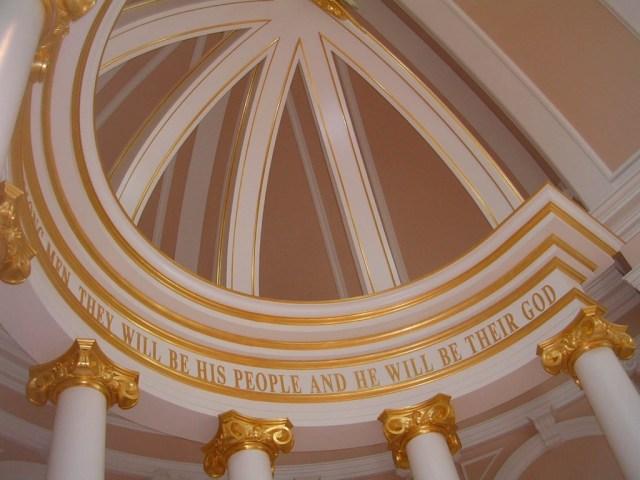 Altar de iglesia en Nashville(USA)