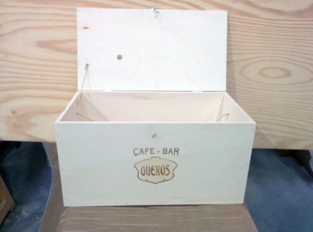 Caja-cesta de Navidad