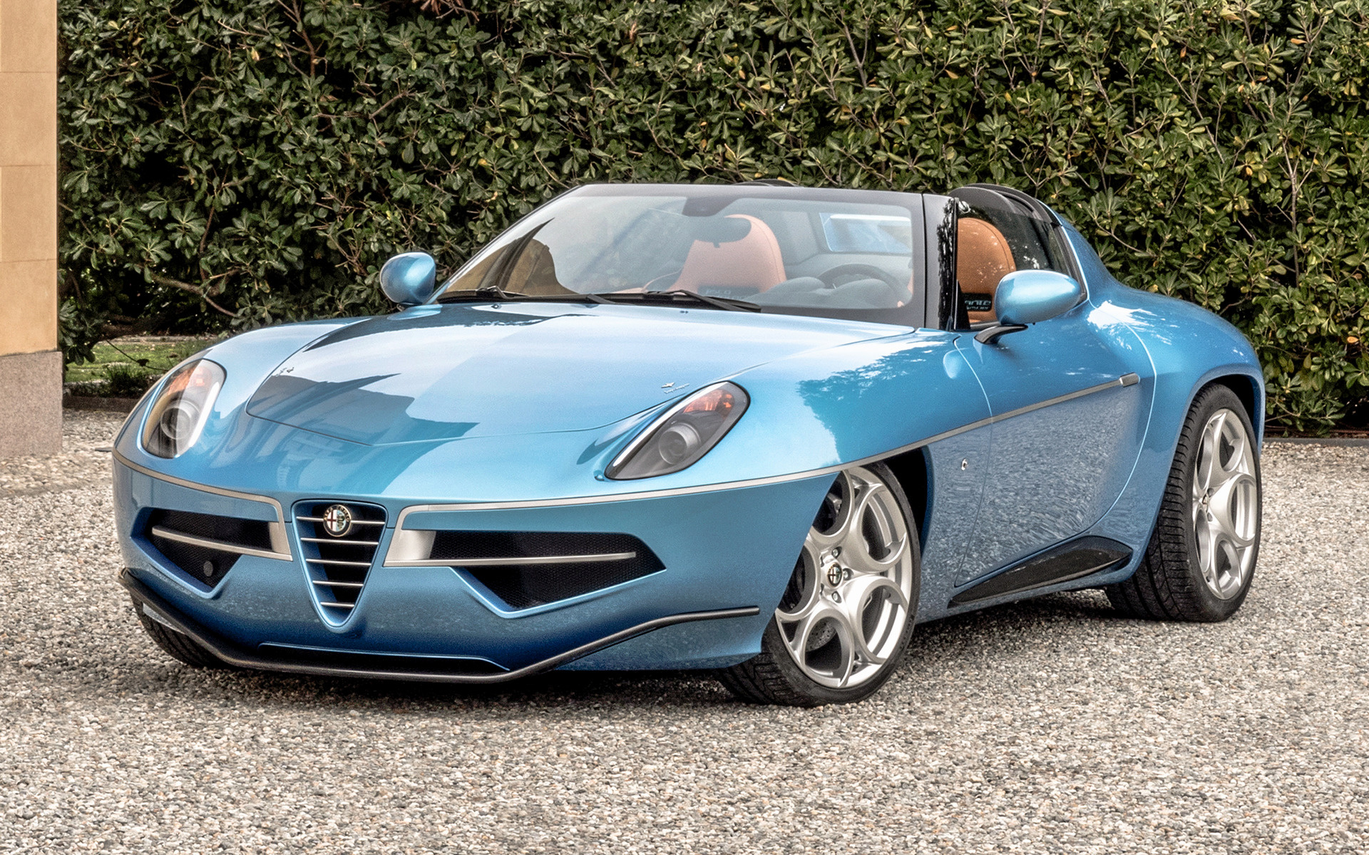 Wallpaper 3d Hd Car Alfa Romeo Disco Volante Spyder 1 2016 Wallpapers And